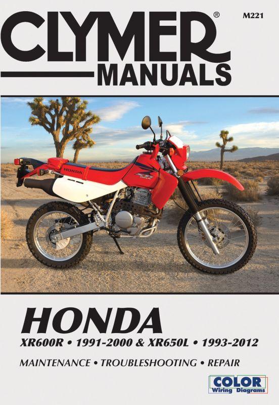 hight resolution of sentinel clymer manual honda xr600r 91 00 xr650l 1993 2007 m221