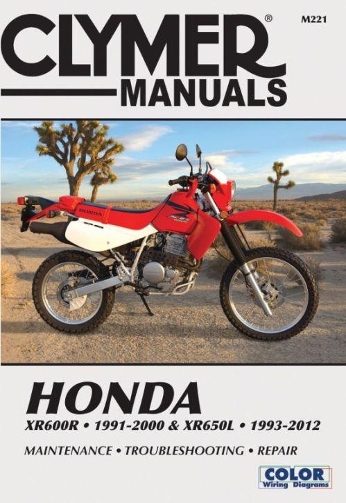 small resolution of sentinel clymer manual honda xr600r 91 00 xr650l 1993 2007 m221
