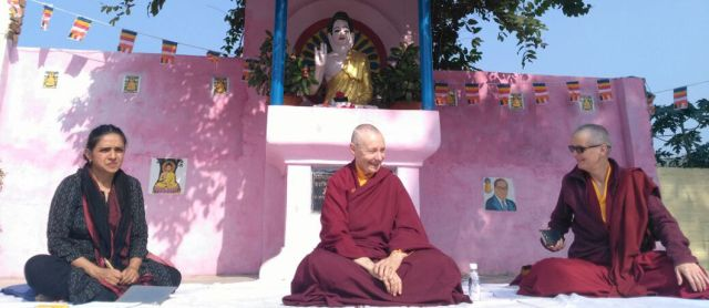 Gallery Tenzin Palmo Visit YBS