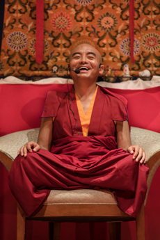 Teaching by H.E.Mingyur Rinpoche