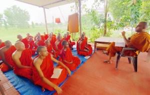 Monks & Pali Language Training