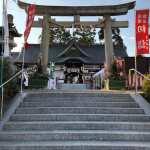星田神社入り口