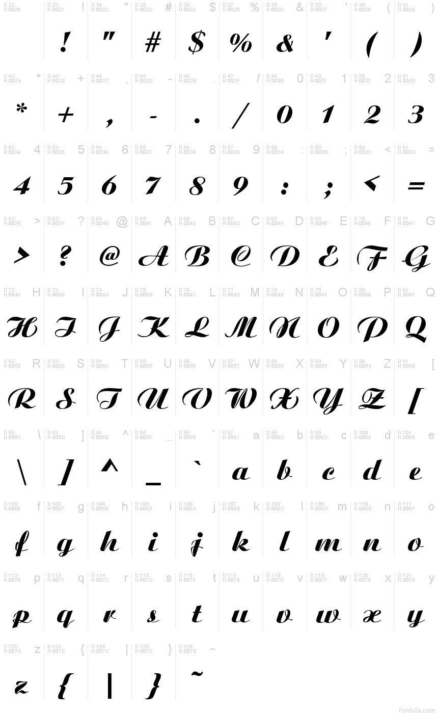 Ariston font