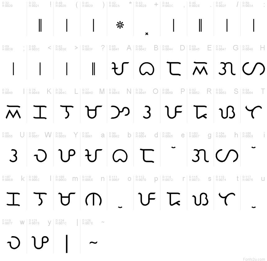 Baybayin Paga font