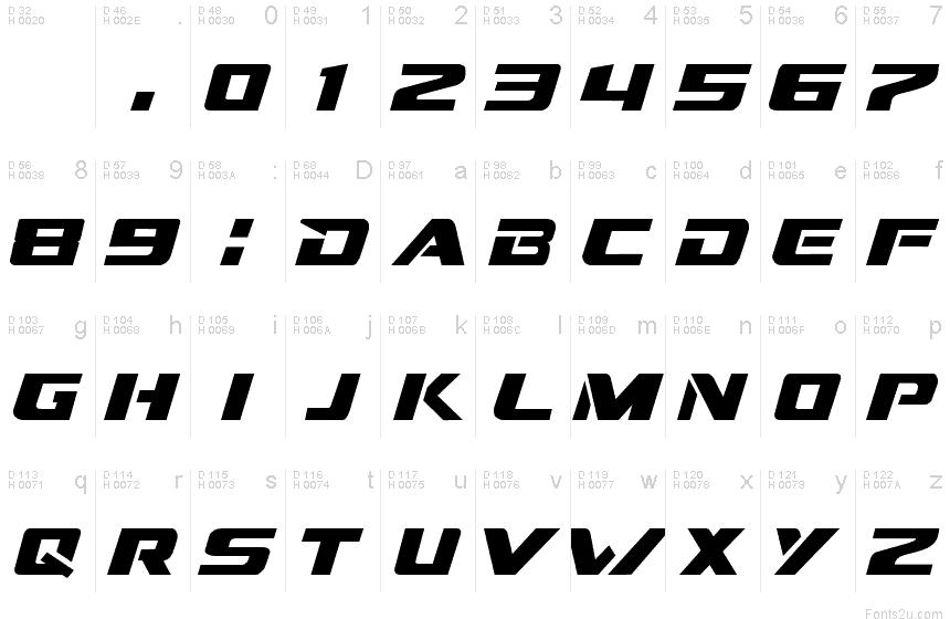 Dream MMA font