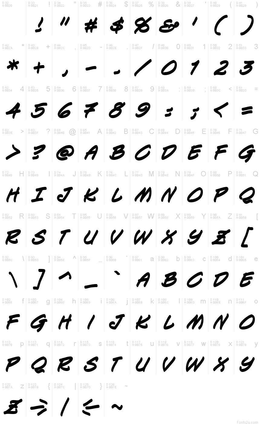 Keelhauled BB Bold font