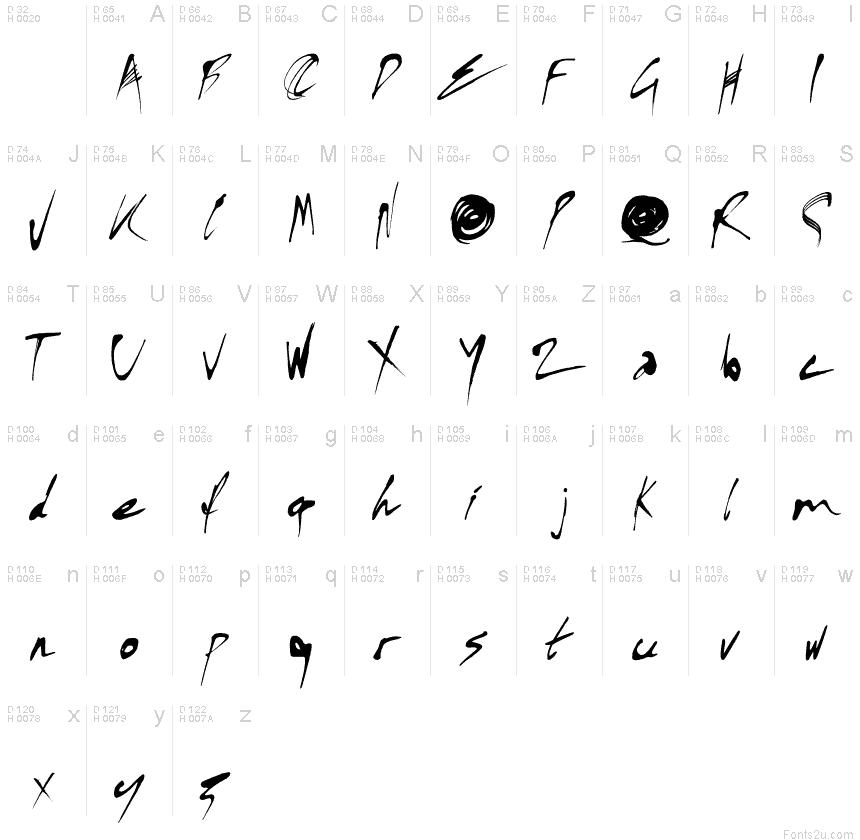 Kylie X Font font