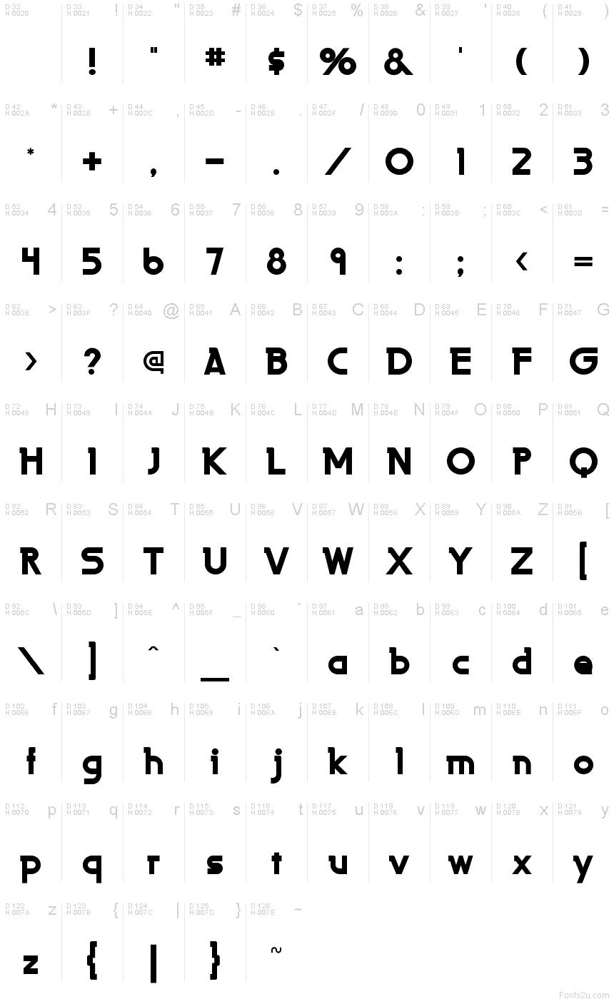 Download LaPerutaFLF-Bold font