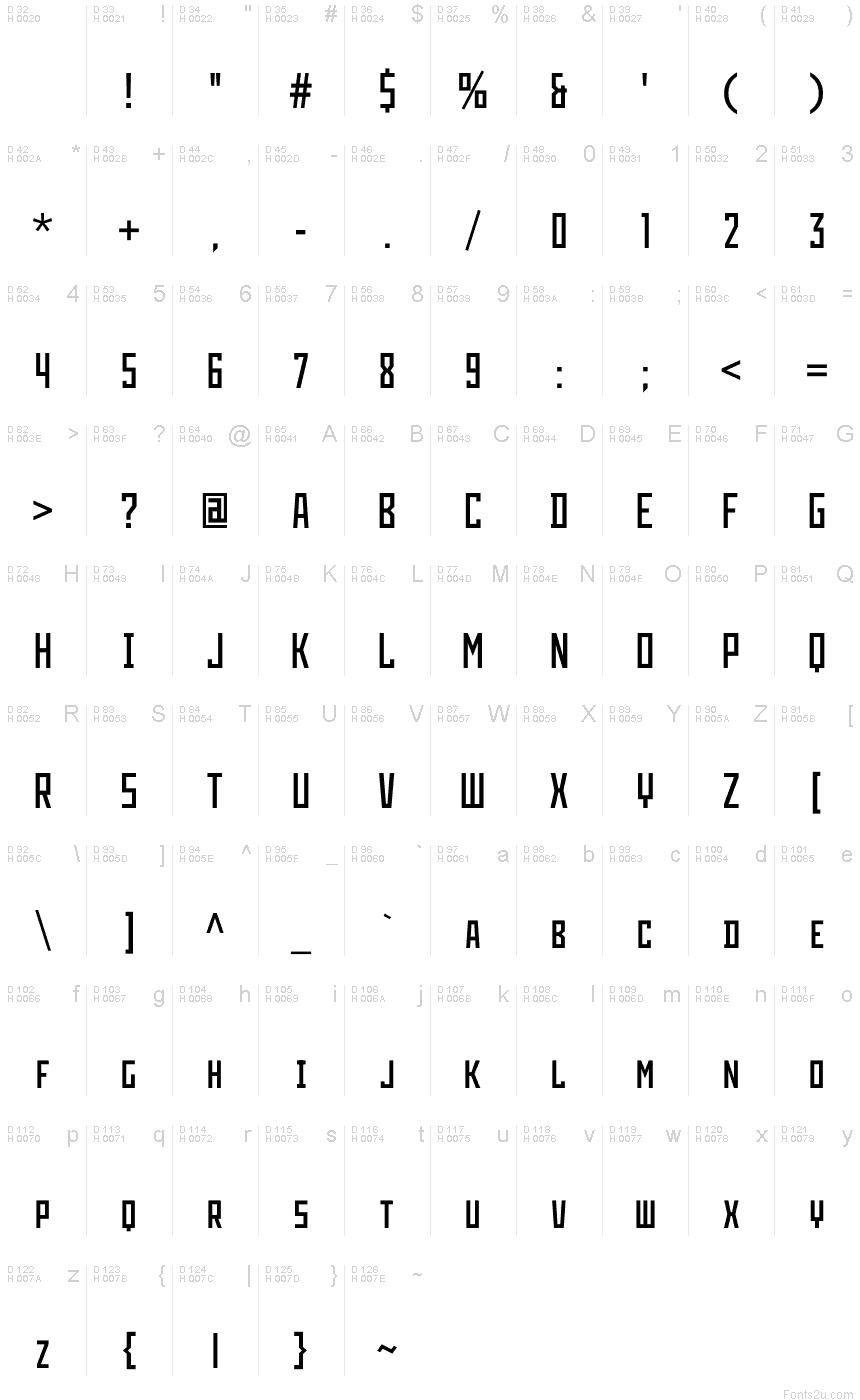 LIFAD font Serbia font