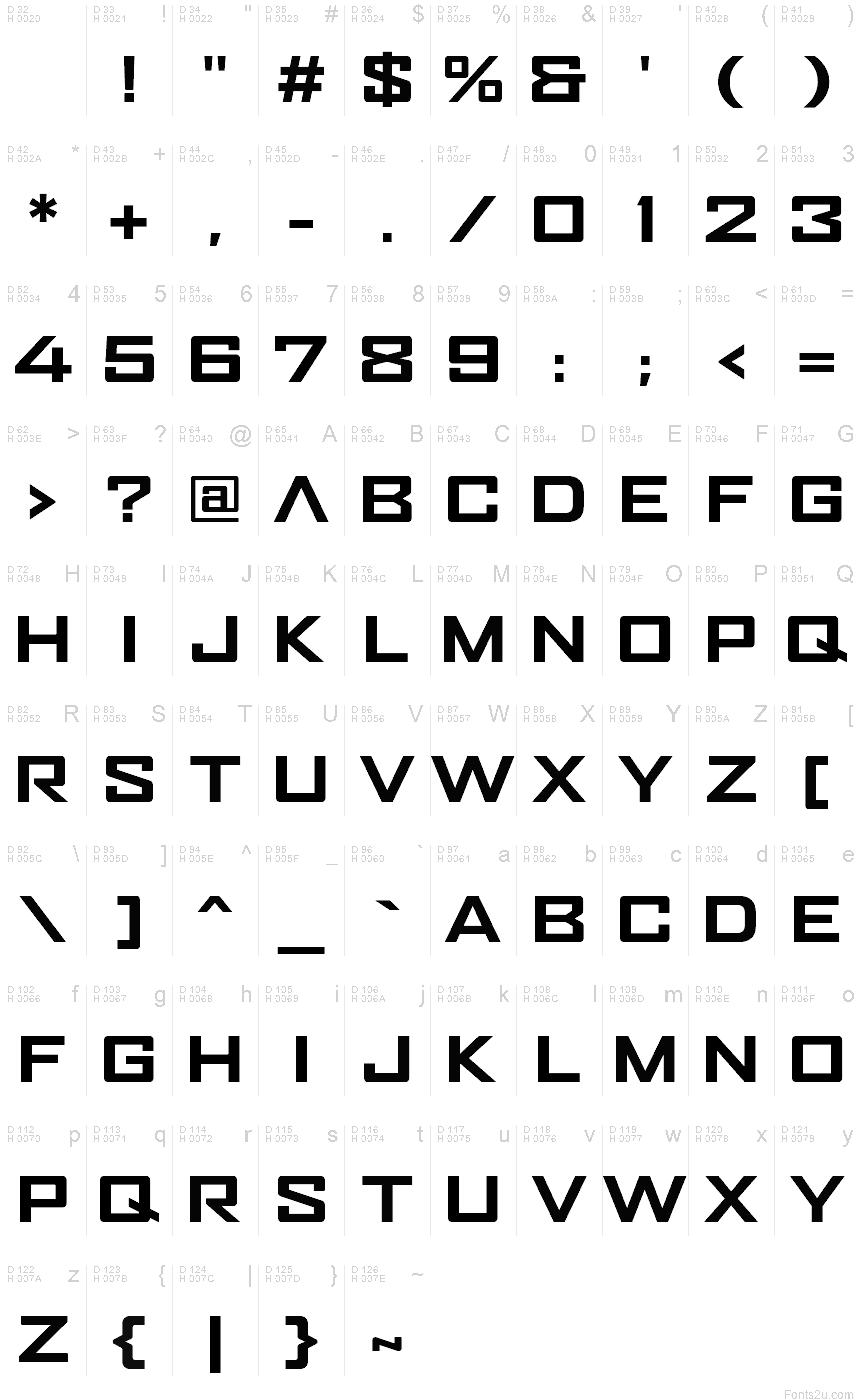 MAZE RUNNER font