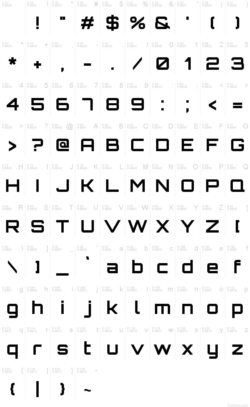 Orbitron Bold font