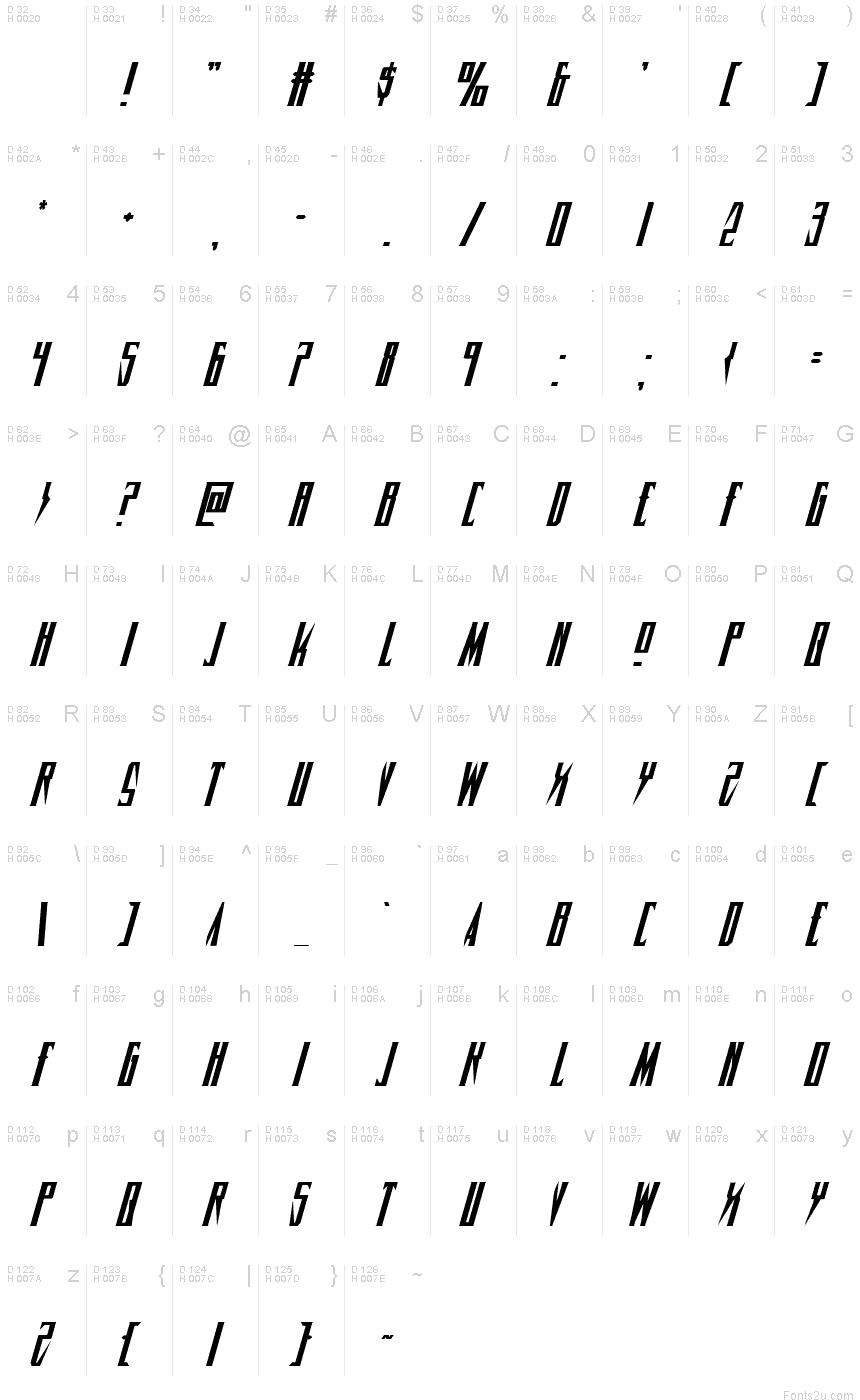 Download Timberwolf Italic font