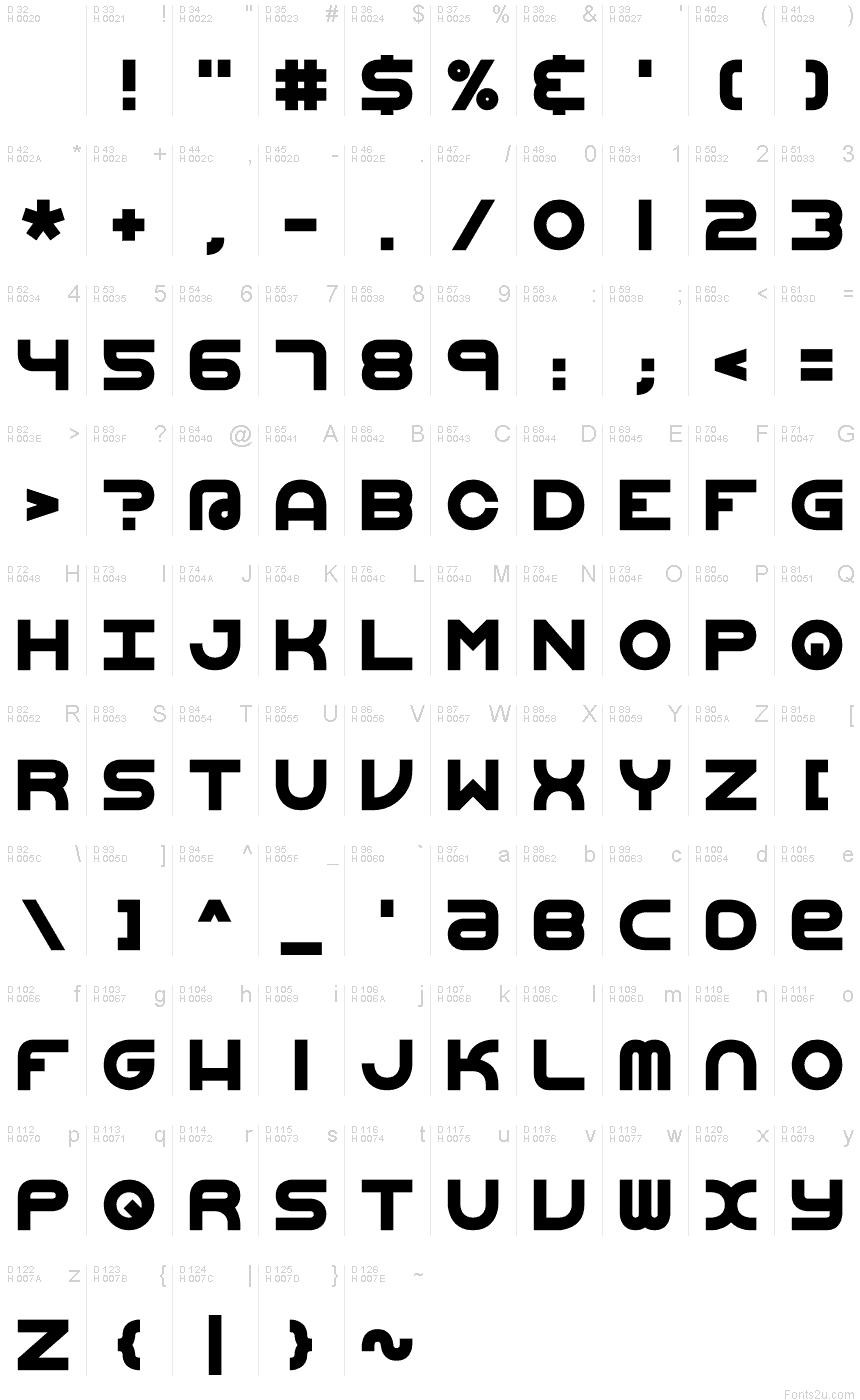 Vertigo Upright 2 BRK font