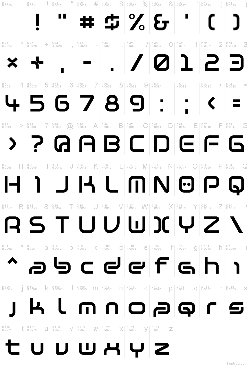 Download Warzone97 font