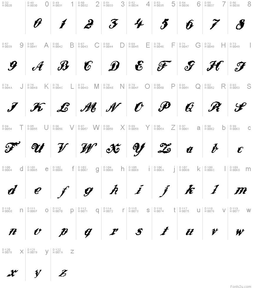WonderInk font