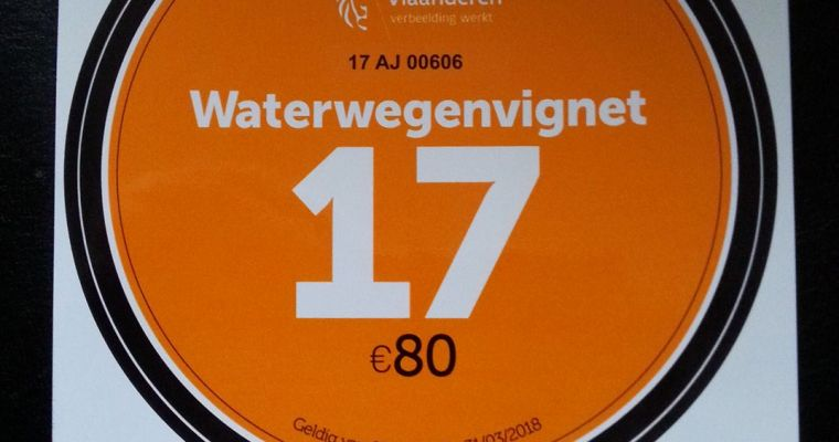 Waterwegenvignet 2017