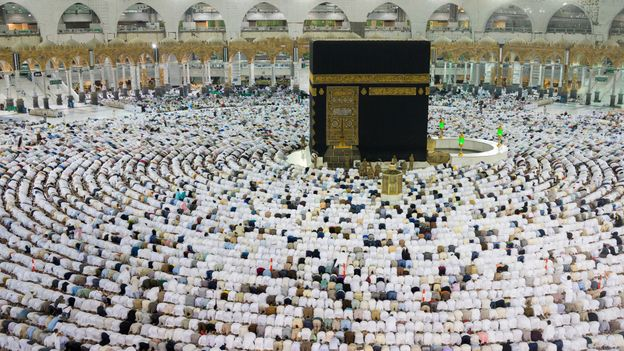 The pilgrimage to Mecca in Saudi Arabia is something Muslims are required to do (Credit: Credit: Jasmin Merdan/Getty Images)