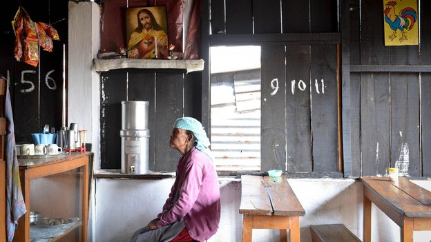 In some Christian Khasi families today, men are the head of the household (Credit: Credit: Leonid Plotkin/Getty Images)