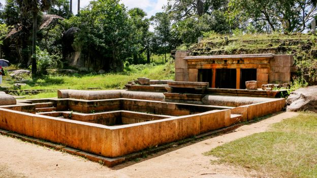 Ranmasu Uyana is a 40-acre ancient pleasure garden that includes the ruins of bathing pools (Credit: Credit: Sri Lanka Tourism)