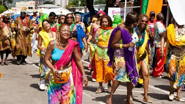 Trinidad society is an amalgam of different cultures (Credit: Credit: Robert Fisher/Alamy)