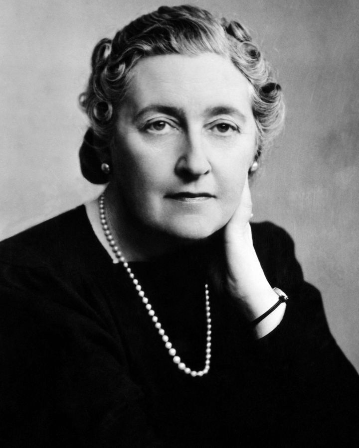 Prolific crime writer Agatha Christie said ideas came to her as she did everyday tasks (Credit: Alamy)