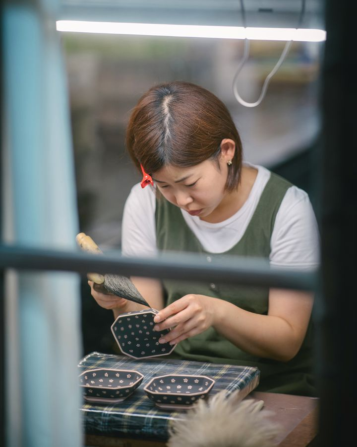 The making of ceramics is a thriving craft in contemporary Japan (Credit: Irwin Wong, Handmade in Japan, gestalten 2020)