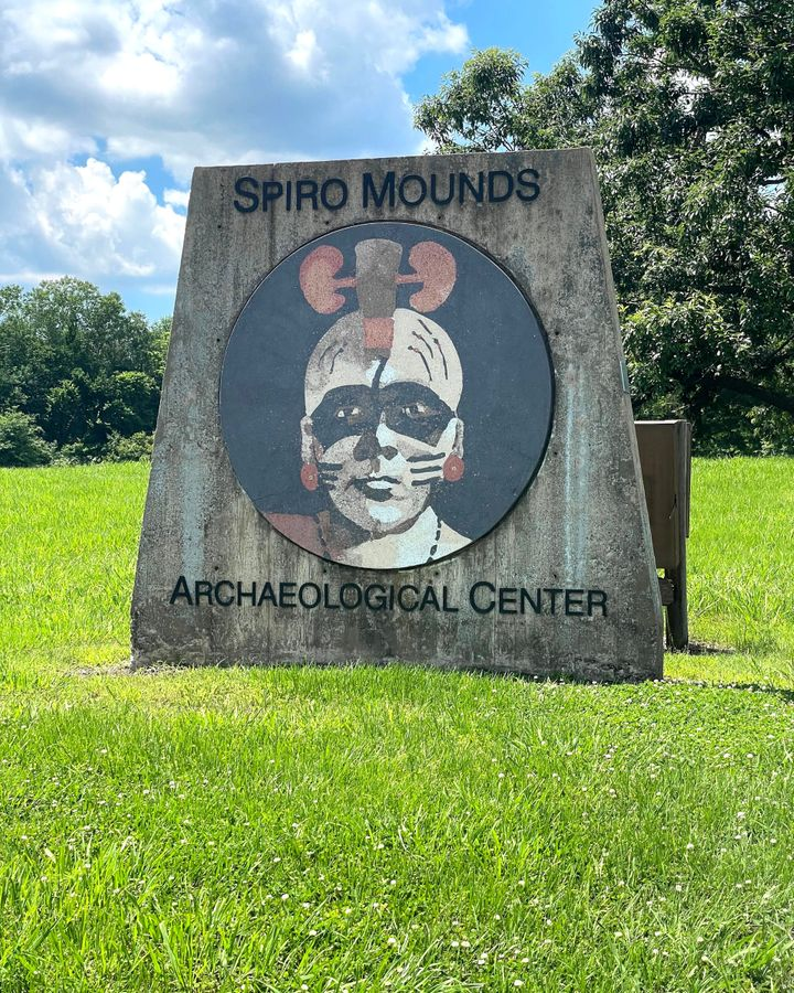Visitors to Spiro Mounds might not immediately sense the importance of the site (Credit: Larry Bleiberg)
