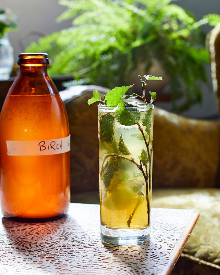 Slippurrin incorporates Birkir (birch liqueur) onto its dishes and drinks (Credit: Karl Petersson)