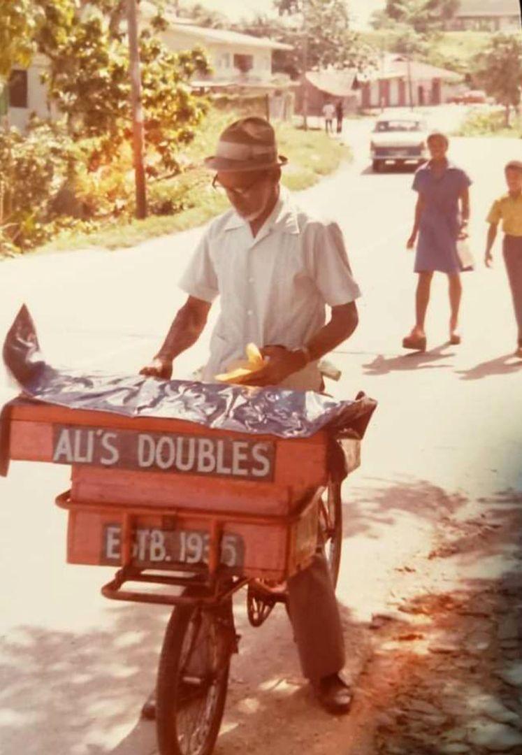 The Ali family has sold doubles in Trinidad & Tobago for decades (Credit: Credit: Courtesy of Araby Ali)