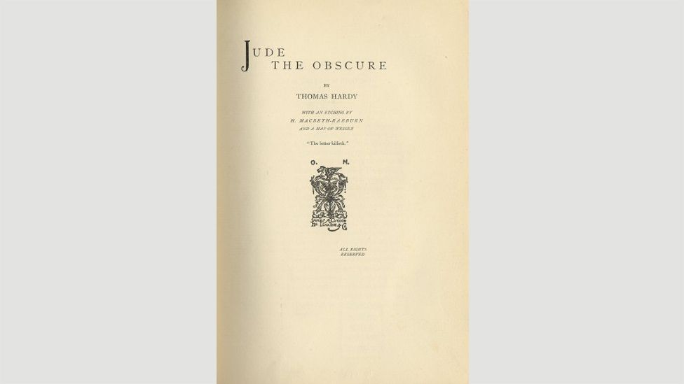 23. Jude the Obscure (Thomas Hardy, 1895)