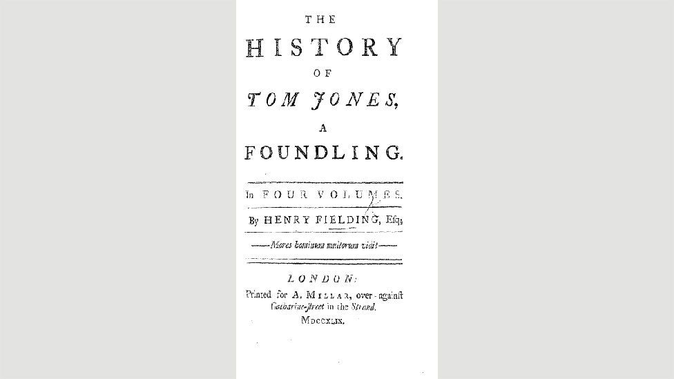 22. Bir Foundling olan Tom Jones'un Tarihi (Henry Fielding, 1749)