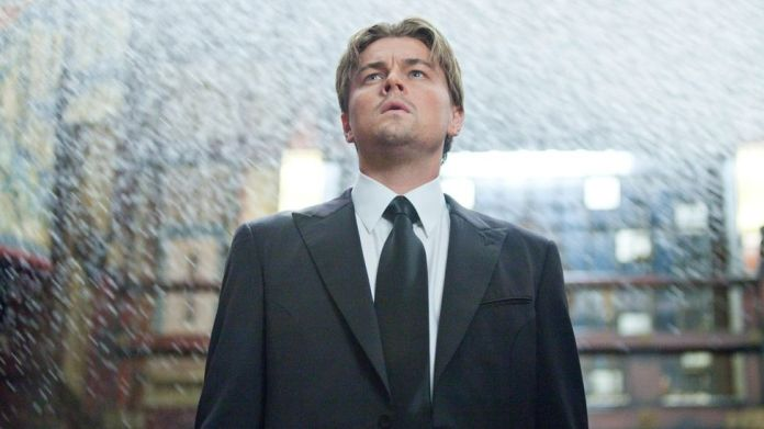 Leonardo DiCaprio starred in Inception, a film that Nolan has described as a film about itself (Credit: Alamy)