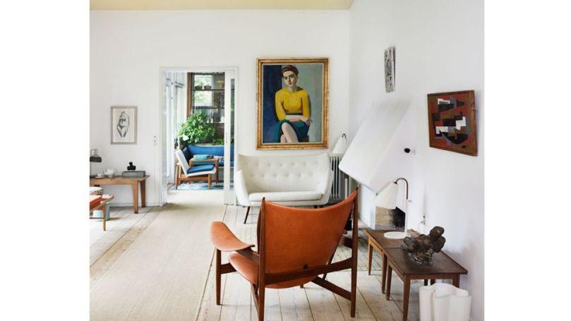 The mid-century home of Danish designer and architect Finn Juhl still feels surprisingly modern (Credit: Life Meets Art/ Phaidon)