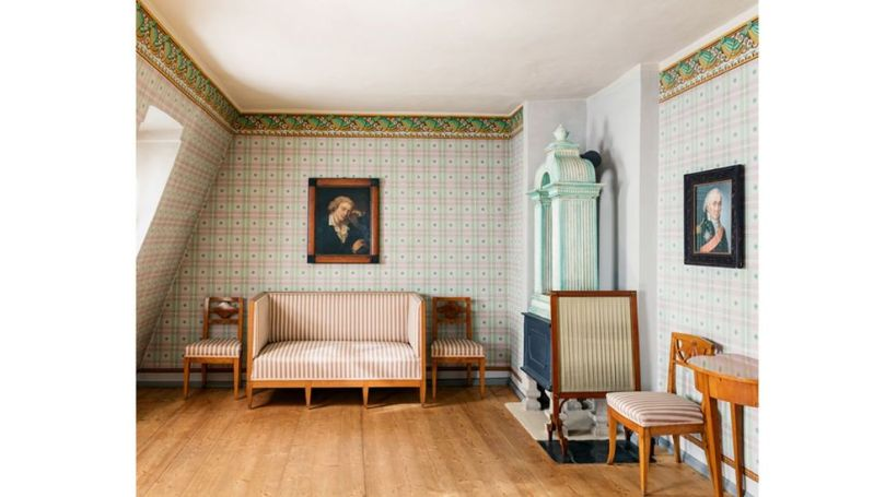 German playwright and poet Friedrich von Schiller died just three years after acquiring his town house in Weimar (Credit: Life Meets Art/ Phaidon)