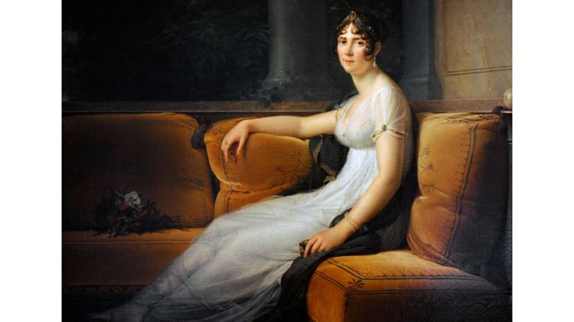 Dhaka muslin was a favourite of Joséphine Bonaparte, the first wife of Napoleon, who owned several dresses inspired by the classical era (Credit: Alamy)