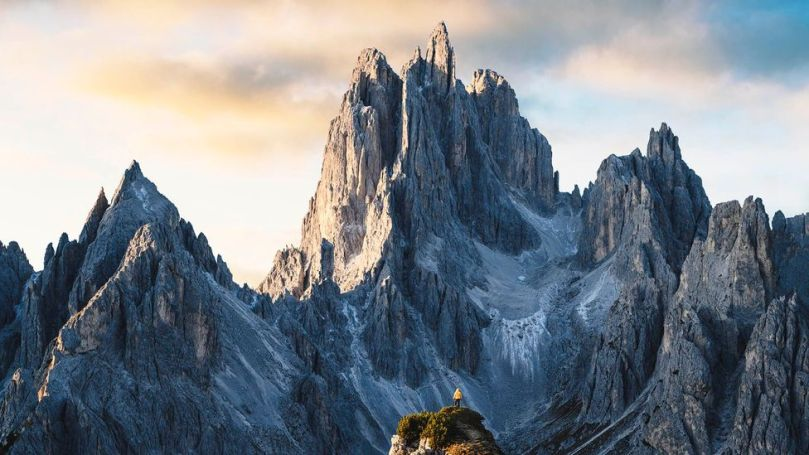 """""""Most Italians are not aware that Italy is 70% mountains and hills"""" (Credit: Credit: Marco Bottigelli/Getty Images)"""