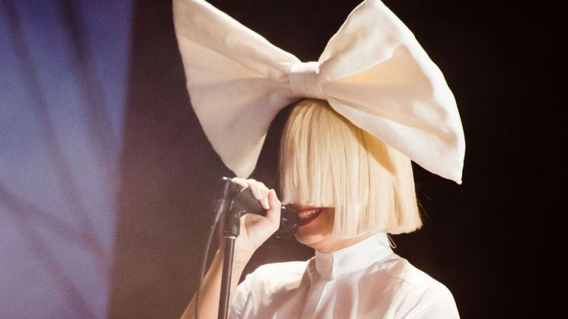 Sia has used an oversized wig to create a certain distance in her public image (Credit: Getty Images)