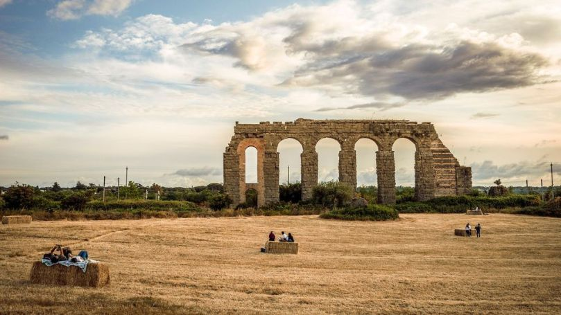 The Park of the Aqueducts, part of Appia Antica, is just a few kilometers from the crowds of the Colosseum (Credit: Stefano Castellani)