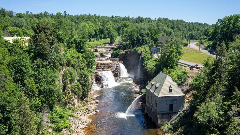 "Ausable Chasm is known as the ""Grand Canyon of the Adirondacks"" (Credit: Sebastian Modak)"