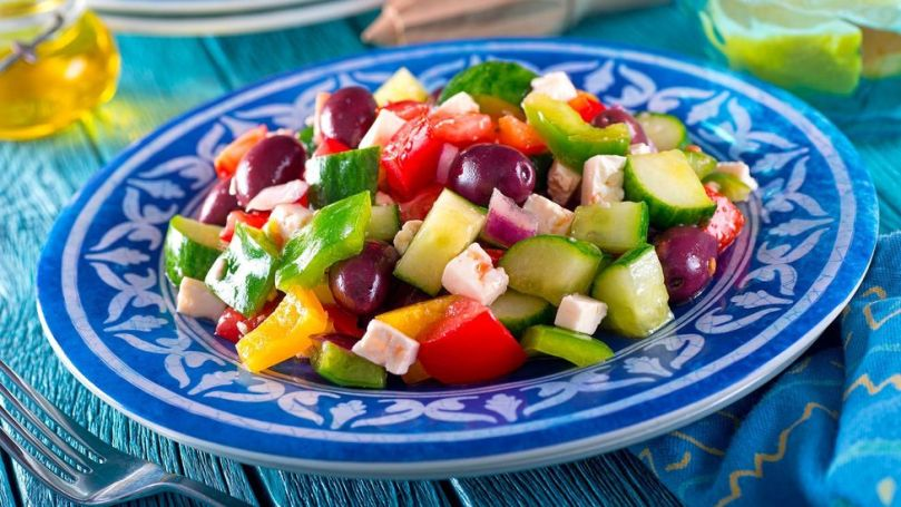 The Mediterranean diet, which contains a lot of fruit, vegetables and unsaturated oils, is frequently rated the healthiest by scientists (Credit: Alamy)