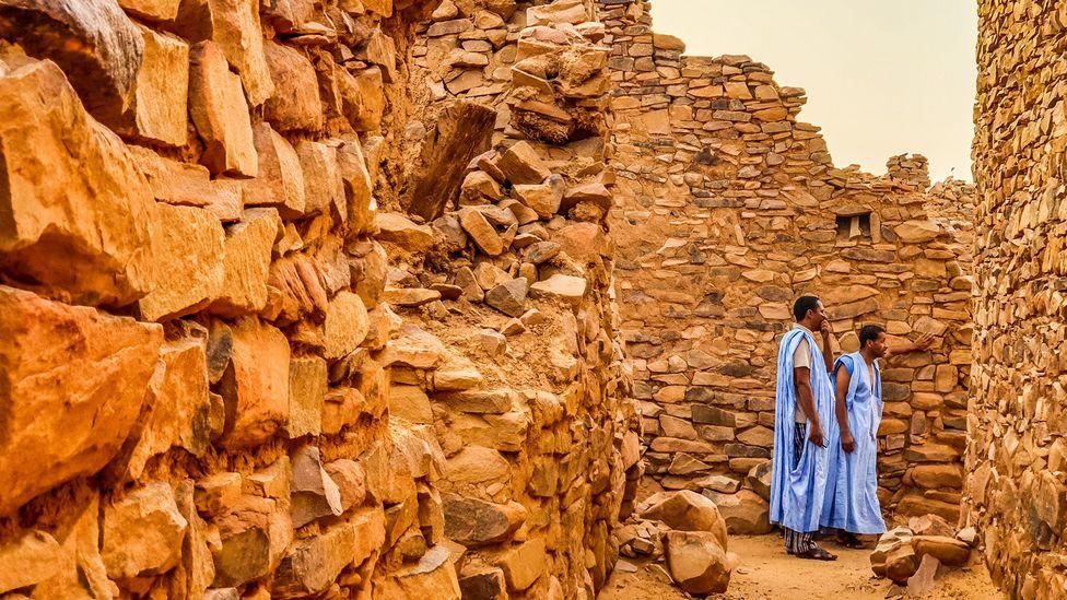 """Le peuple touareg est considéré comme le """"hommes bleus du Sahara"""" (Crédit : Juan Martinez)"""