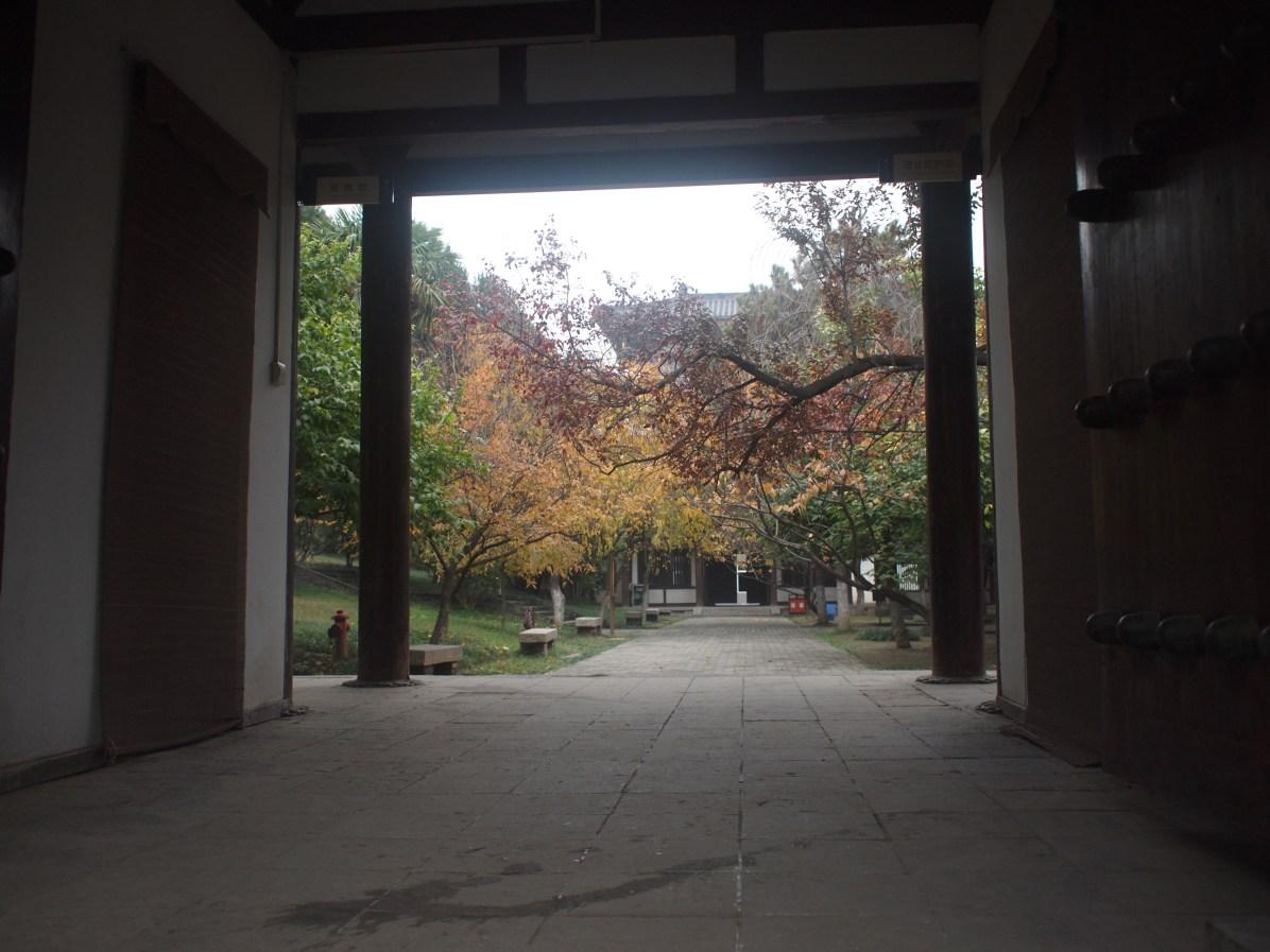 青龍寺門口