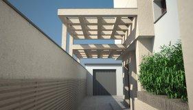 Concrete shading - Entrance