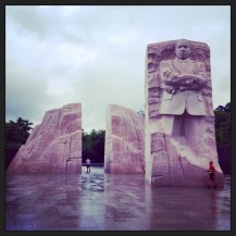 A true beacon of love: Martin Luther King Memorial
