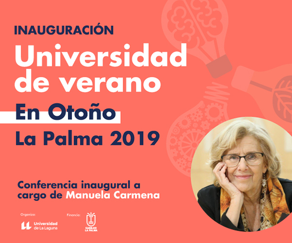 Universidad de Verano en Otoño en La Palma