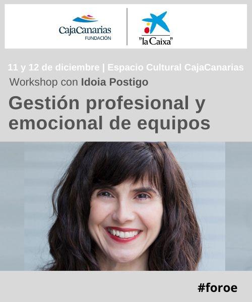 Workshop. Gestión profesional y emocional de equipos