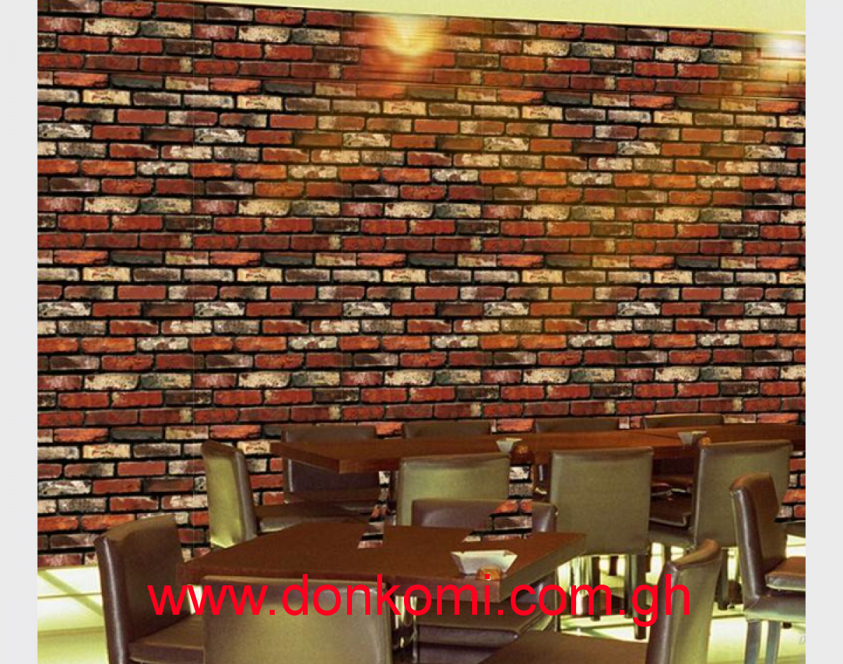 Adhesive Wallpaper Wallpaper Room Entrance Wall Stickers 45cm100