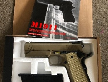 Airsoft rifles and pistols for sale