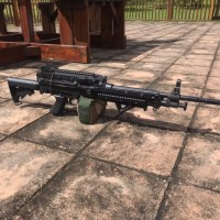 MK46 SAW/LMG with upgraded internals and accessories.