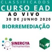 CURSO DE BIORREMEDIAÇÃO - EAD AO VIVO, EM TEMPO REAL